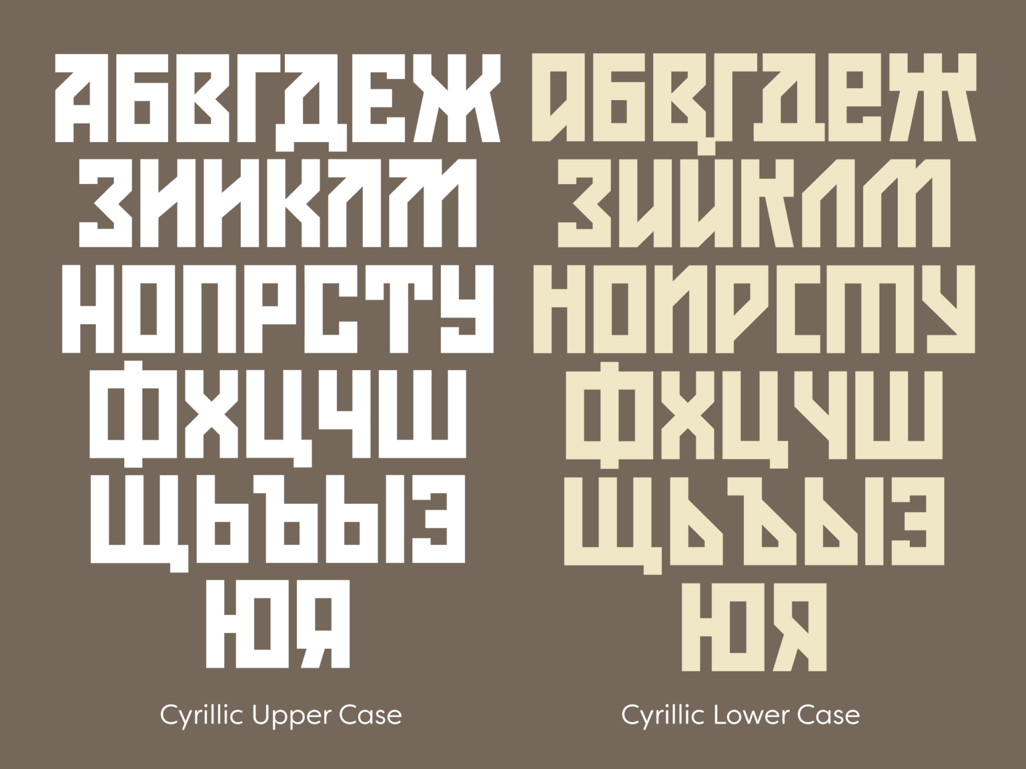 Konstruktor Cyrillic Charset