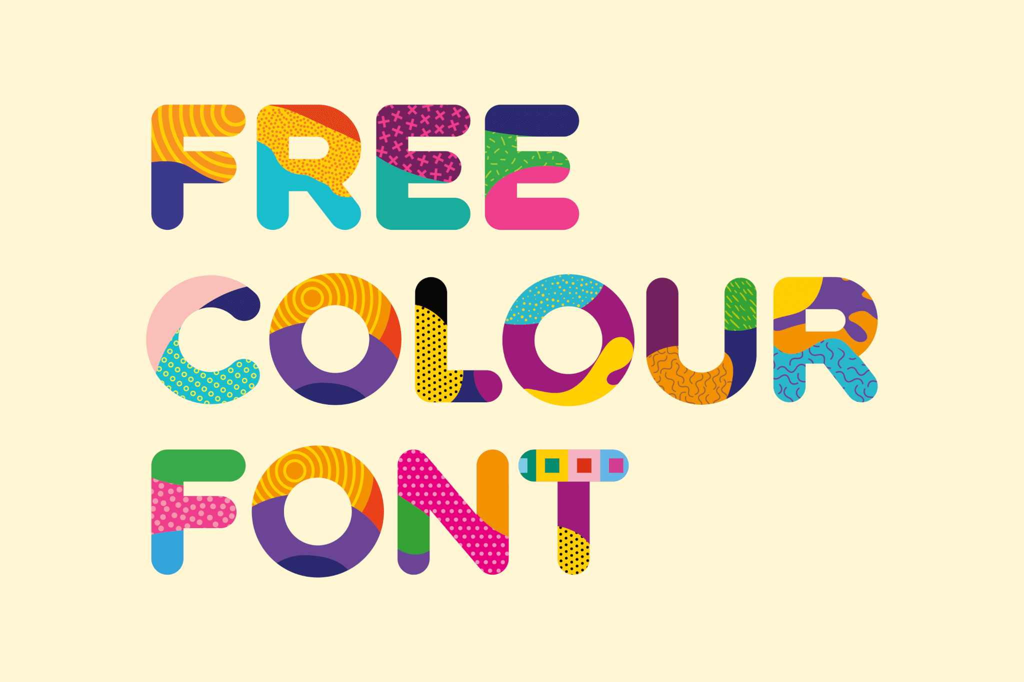 Fattern Free Font