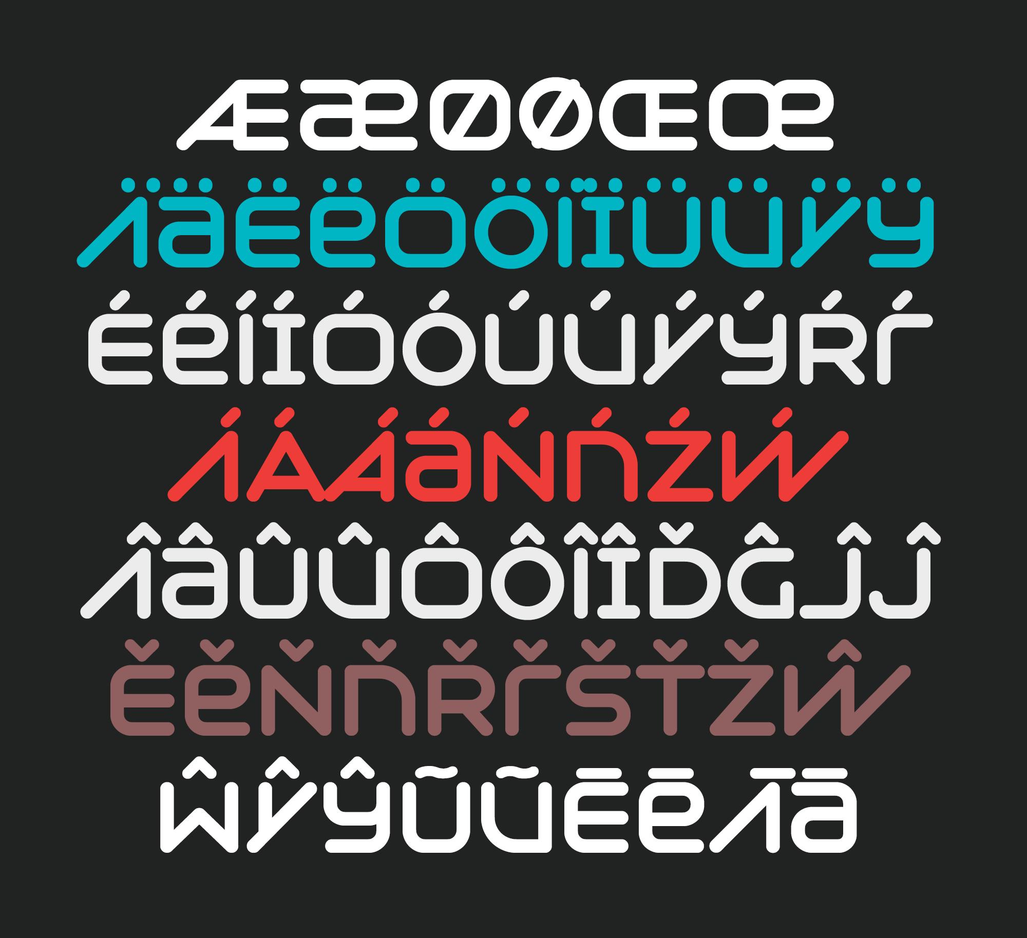 Syntha Nova Diacritics