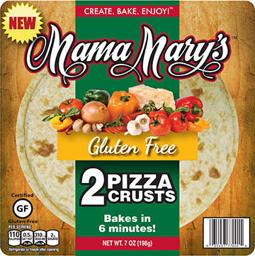 Mama Mary's Gluten Free Pizza Crusts