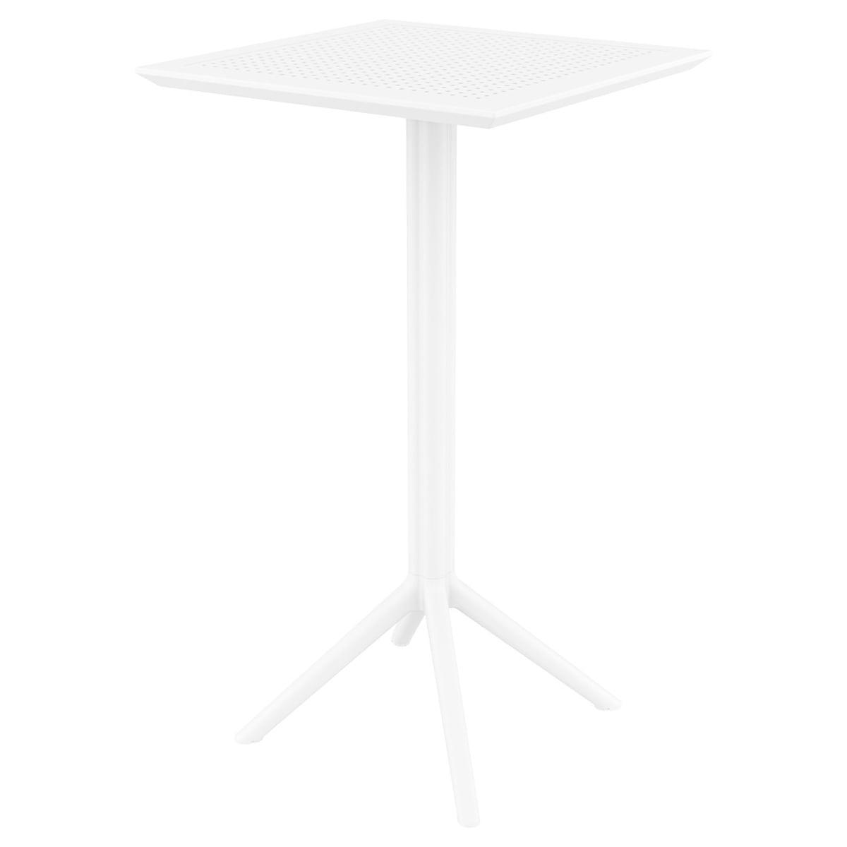 Neo 200116e Plastic Foldable Square Bar Table 60x60cm Neo Horeca Furniture