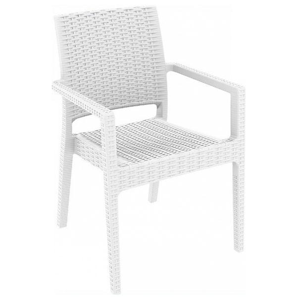 neo 200810e resin wickerlook outdoor armchair