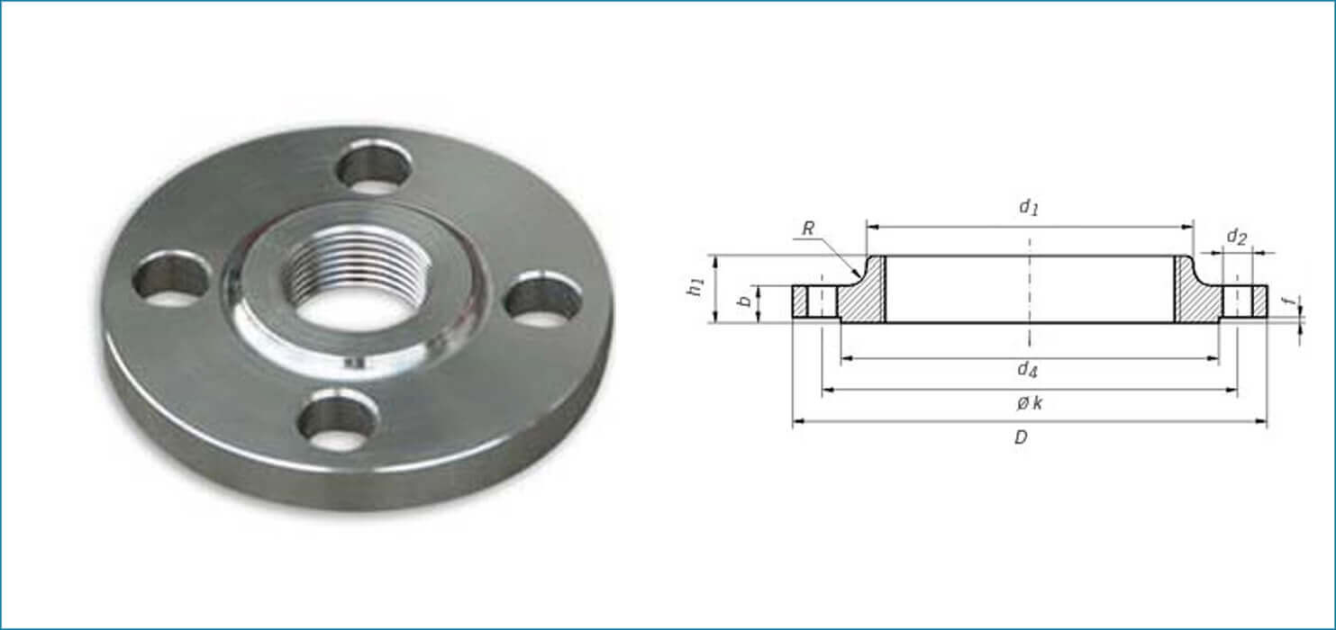 hight resolution of din flanges