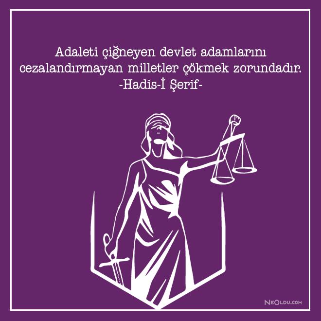 ilahi adalet ile ilgili sozler sozlermer