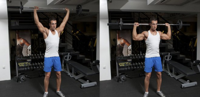 back press - Best Shoulder Muscle Exercises