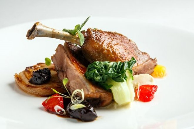 confit de canard - Places To Visit In Paris