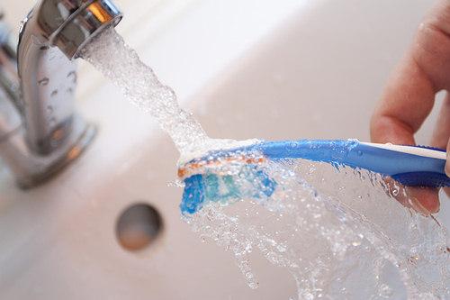 toothbrush washing