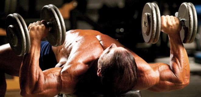 dumbell bench - Best Chest Muscle Exercises