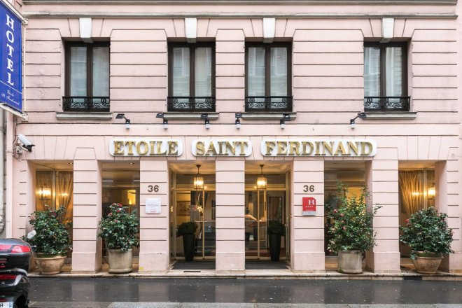 hotel saint ferdinand by happyculture - Places To Visit In Paris