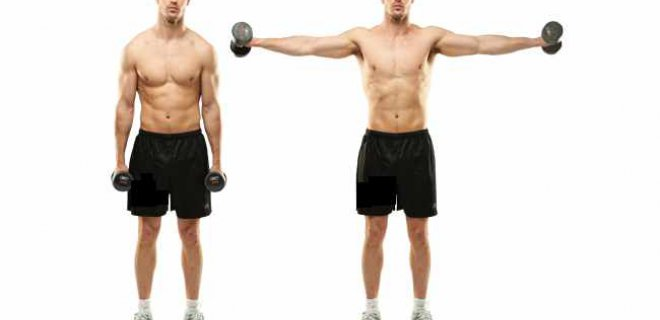lateral raises - Best Shoulder Muscle Exercises