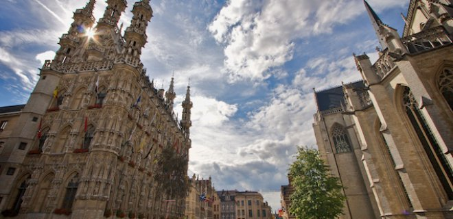 leuven belediye binasi - Places To Visit In Belgium