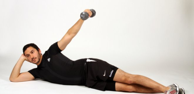 side lying - Best Shoulder Muscle Exercises