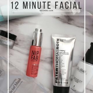 12 Minute Facial