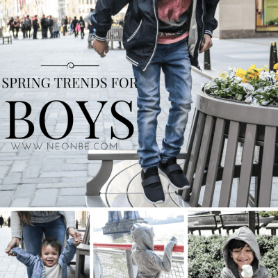 Spring Fashion Trends For Boys