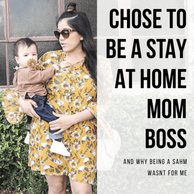 I Am A Stay At Home Mom Boss