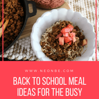 Back to School Meal Ideas For The Busy Mom