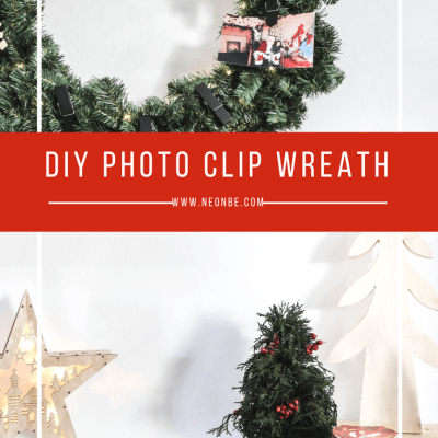 Greeting The Season- DIY Photo Wreath