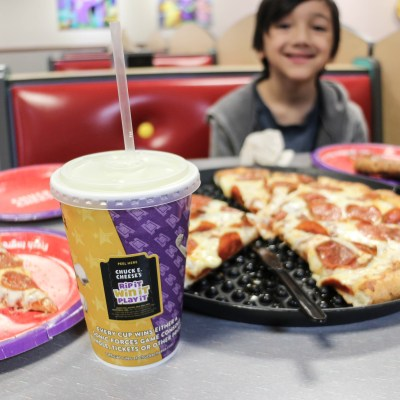 Chuck E. Cheese For The Win!