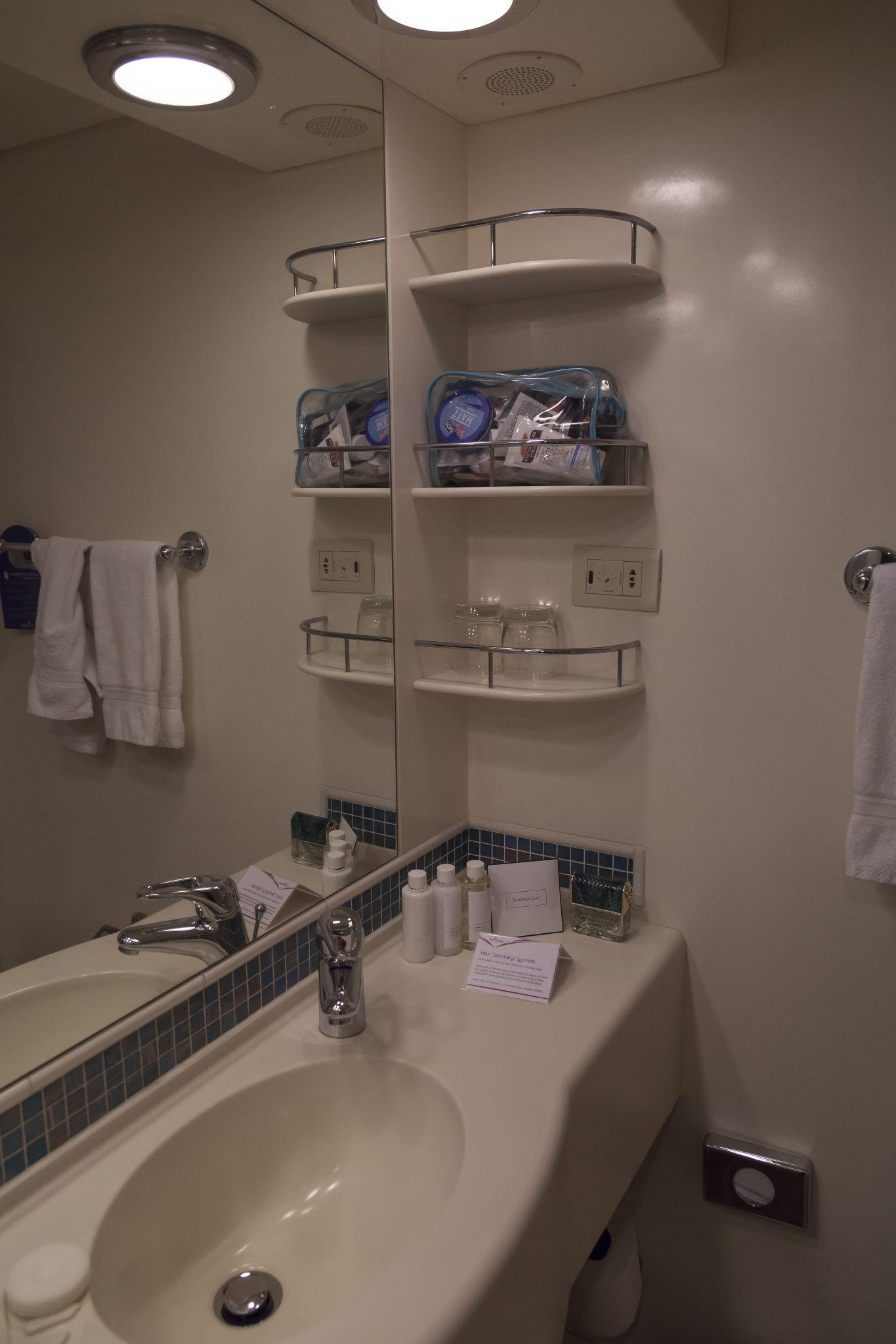 Azura Cabin A610 Bathroom