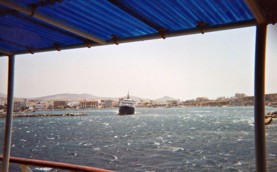Greek Island Ferry