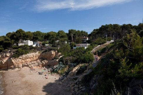 Cap de Salou - Quiet Beach
