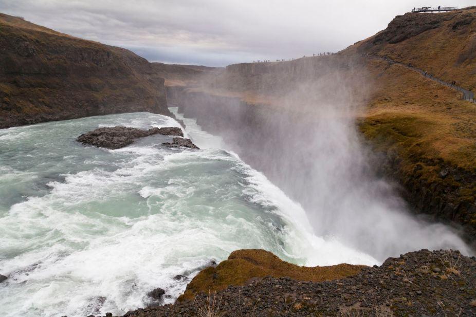 Gullfoss Waterfall