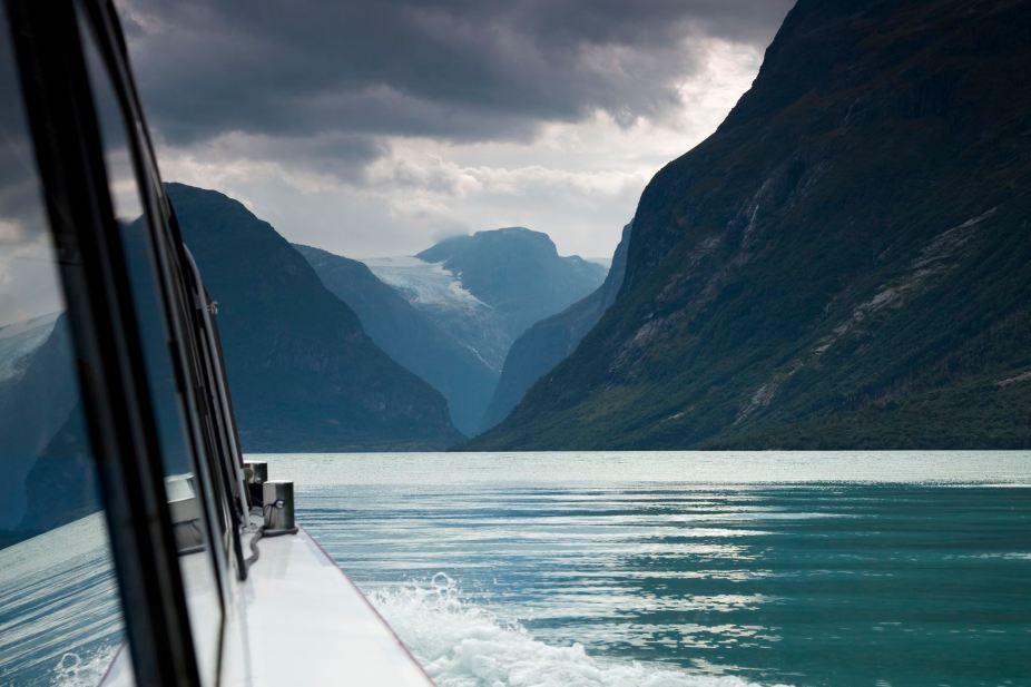 Lovatnet Lake Boat Ride