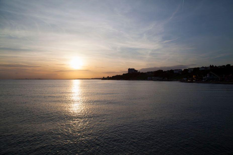 Southend Pier Sunset