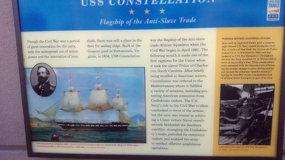 USS Constellation Information