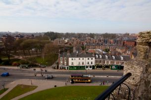 York Castle View