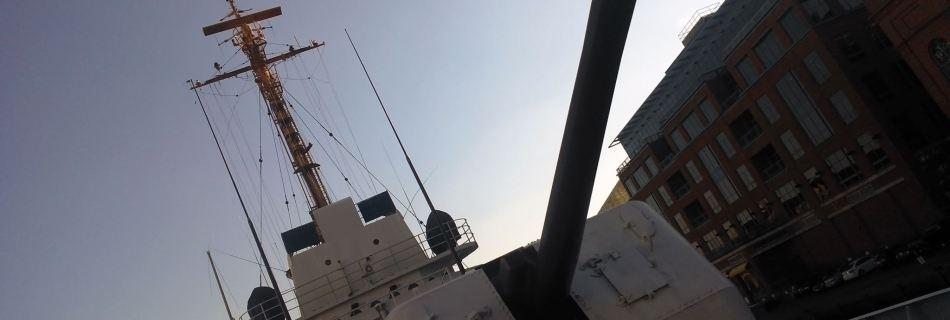 USCGC Taney Gun