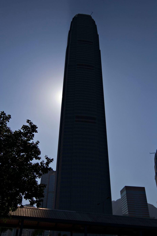 Silhouetted Skyscraper
