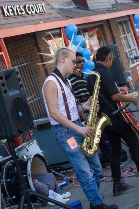 Saxophone Punk
