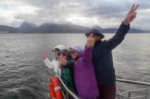 Beagle Channel Tourists
