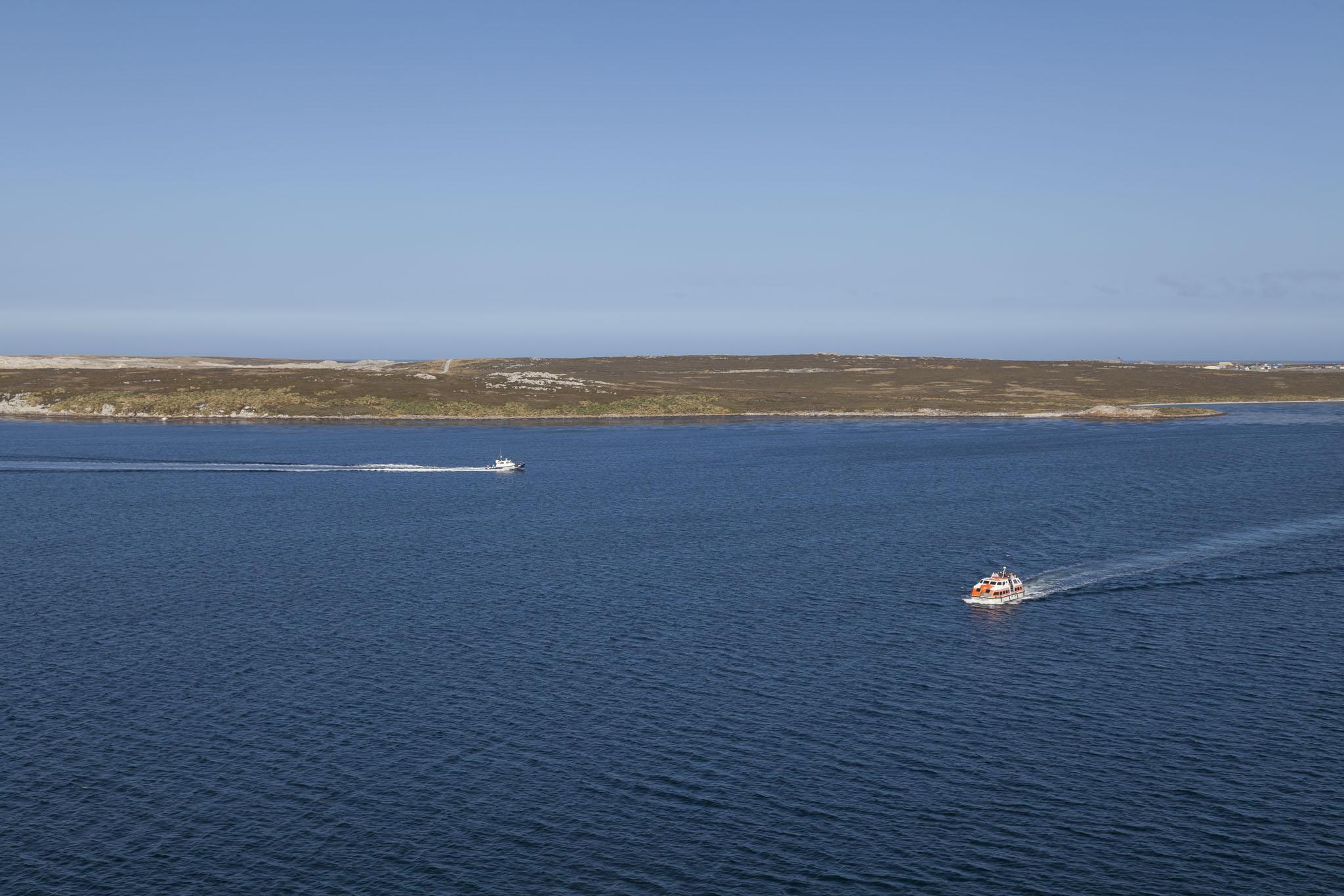 Falkland Islands, Tender Boat