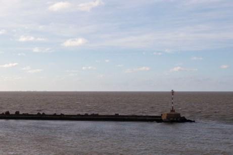 Approaching Montevideo, Uruguay
