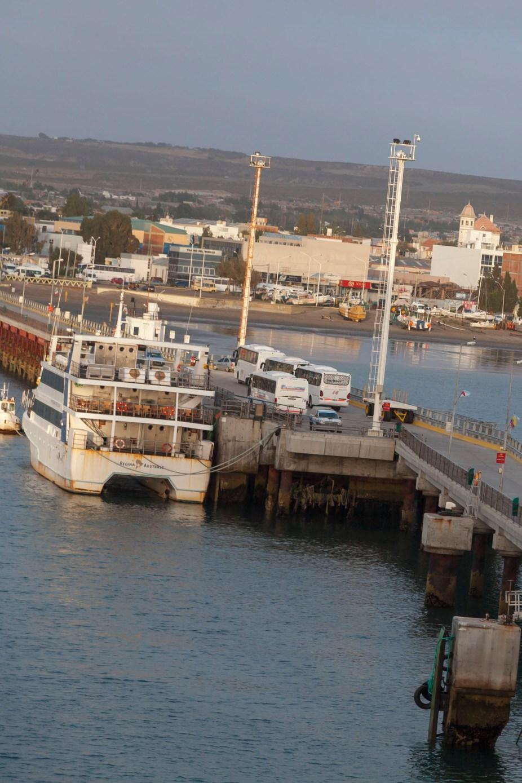 Vessel Along Dock
