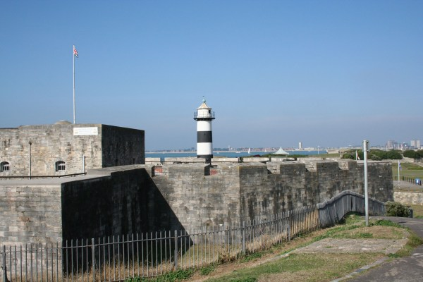 Southsea Castle, Lighthouse, 2006