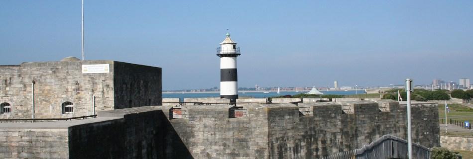 Southsea Castle, Lighthouse, 2006
