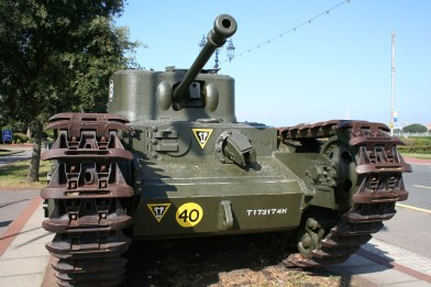 Southsea, D-Day Museum, Tank, 2006