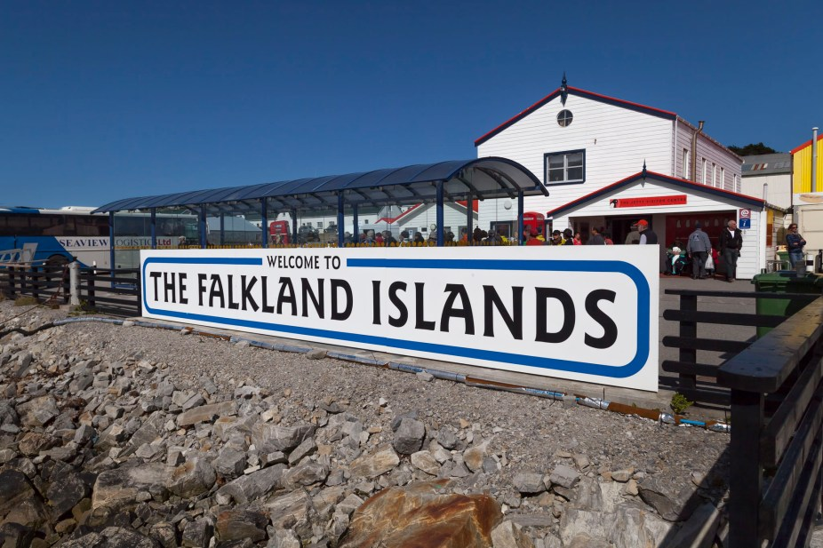 Falkland Islands Sign