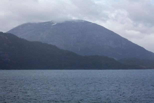 Approaching Amalia Glacier