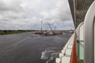North Sea Canal Locks From Azura