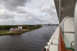 Azura, North Sea Canal Transit