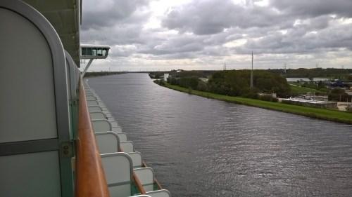 Azura, North Sea Canal Transit