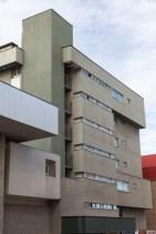 Brutalist Building, Punta Arenas