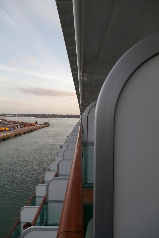 Southampton Dock From Azura