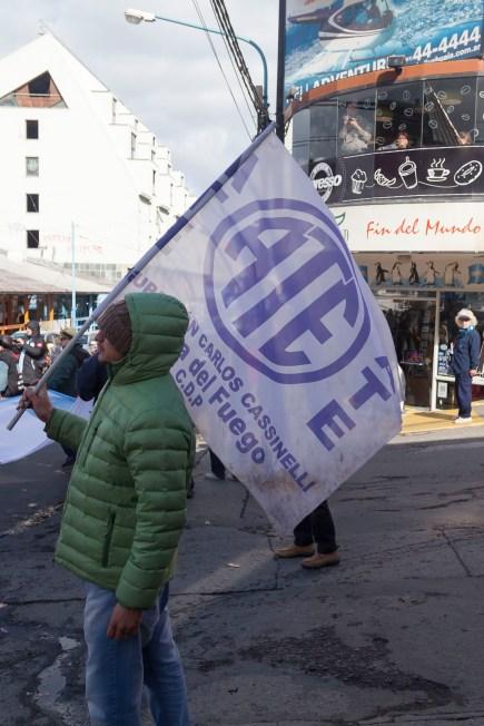 Ushuaia Protest