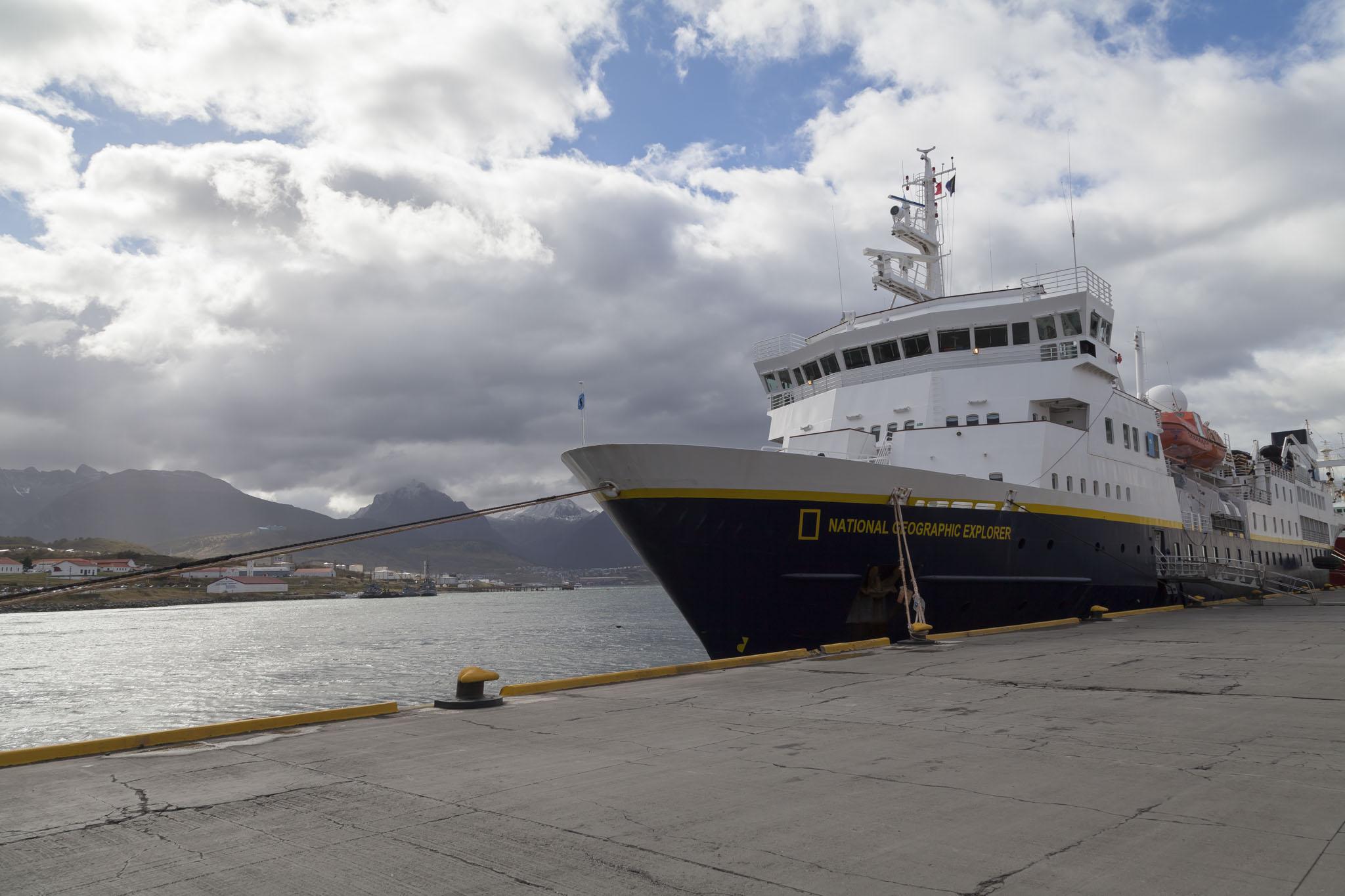 National Geographic Explorer Ship
