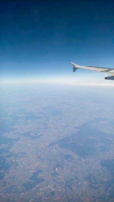Flight Over Europe